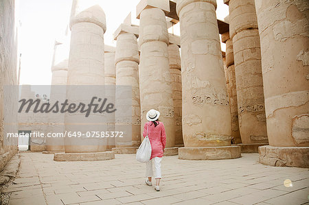 Karnak Temple, Luxor, Egypt Stock Photo - Premium Royalty-Free, Image code: 649-07585372