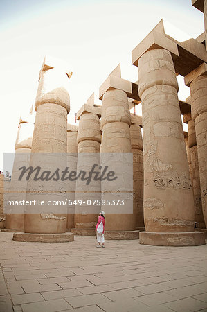 Karnak Temple, Luxor, Egypt Stock Photo - Premium Royalty-Free, Image code: 649-07585373
