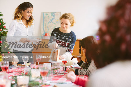 Family Christmas party Stock Photo - Premium Royalty-Free, Image code: 649-08086581