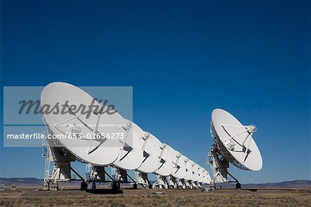 National Radio Astronomy Observatory (Socorro) Stock Photo - Premium Royalty-Free, Image code: 653-01656273