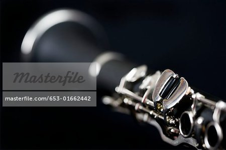 Detail of a clarinet Stock Photo - Premium Royalty-Free, Image code: 653-01662442