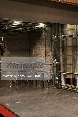 Backstage at a theater Stock Photo - Premium Royalty-Free, Image code: 653-01665903