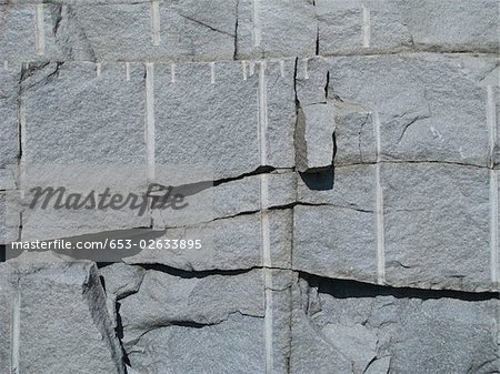 A rock wall, full frame Stock Photo - Premium Royalty-Free, Image code: 653-02633895