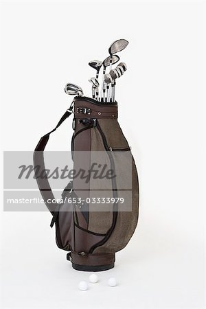 A set of golf clubs Stock Photo - Premium Royalty-Free, Image code: 653-03333979