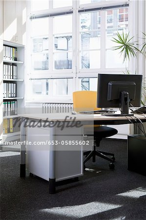 Peaceful office environment Stock Photo - Premium Royalty-Free, Image code: 653-05855602