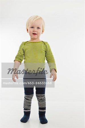 Portrait of a toddler Stock Photo - Premium Royalty-Free, Image code: 653-06533668