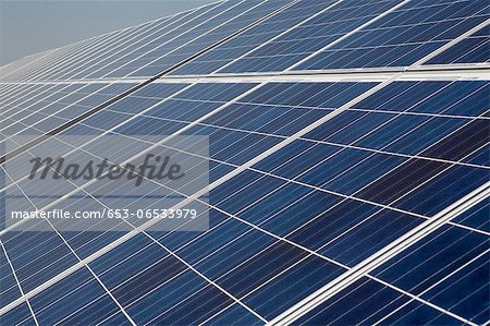 Solar panels Stock Photo - Premium Royalty-Free, Image code: 653-06533979