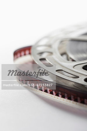 Film reel Stock Photo - Premium Royalty-Free, Image code: 653-07233827