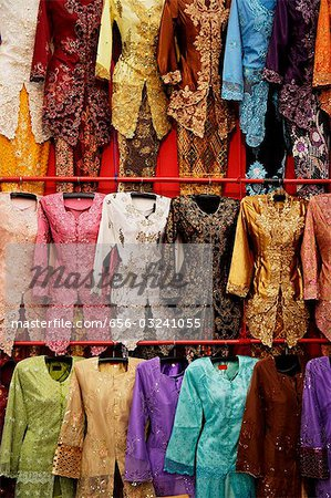 Traditional Malaysian attire for women, baju kebaya