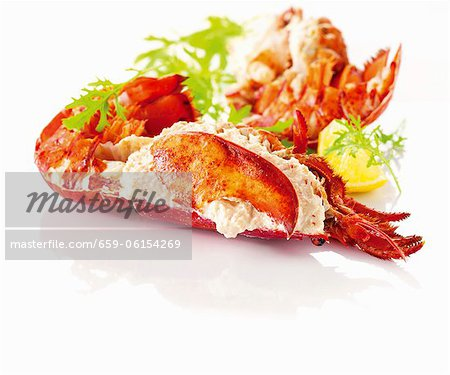 Cooked lobster Stock Photo - Premium Royalty-Free, Image code: 659-06154269