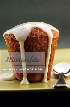 Golden syrup pudding Stock Photo - Premium Royalty-Free, Image code: 659-06184646