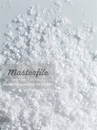 Flakes of sea salt Stock Photo - Premium Royalty-Free, Image code: 659-06372360