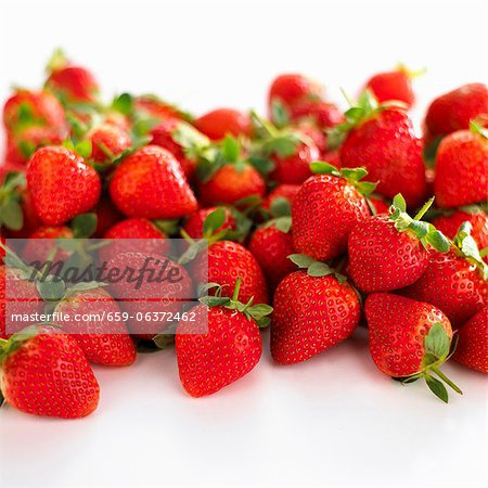 Strawberries Stock Photo - Premium Royalty-Free, Image code: 659-06372462