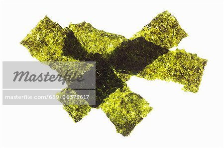 Strips of seaweed Stock Photo - Premium Royalty-Free, Image code: 659-06373617