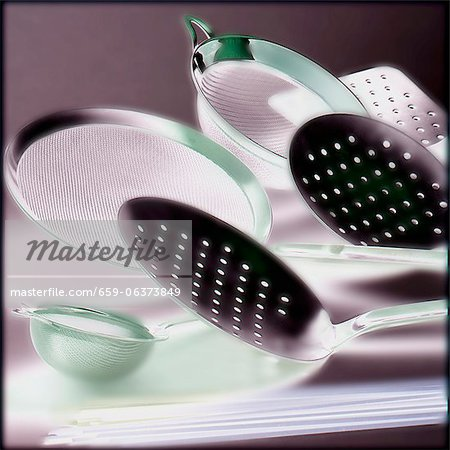 Kitchen utensils Stock Photo - Premium Royalty-Free, Image code: 659-06373849