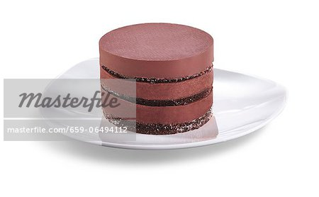 Individual Six Layer Chocolate Cheesecake Stock Photo - Premium Royalty-Free, Image code: 659-06494112