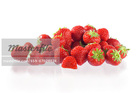 Strawberries Stock Photo - Premium Royalty-Free, Image code: 659-07028074