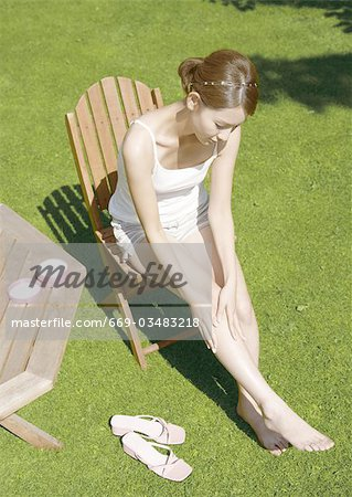 Foot care Stock Photo - Premium Royalty-Free, Image code: 669-03483218