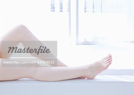 Woman's legs Stock Photo - Premium Royalty-Free, Image code: 669-03709022