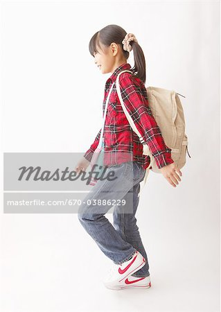 Girl going on excursion Stock Photo - Premium Royalty-Free, Image code: 670-03886229