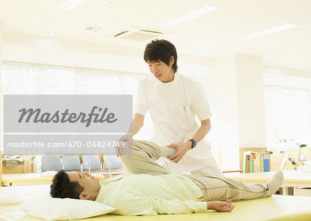 Rehabilitation Stock Photo - Premium Royalty-Free, Image code: 670-06824749