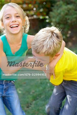 Children playing Stock Photo - Premium Royalty-Free, Image code: 679-02994953