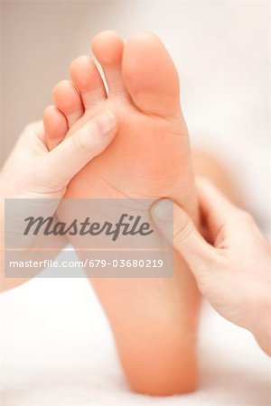 Reflexology. Stock Photo - Premium Royalty-Free, Image code: 679-03680219