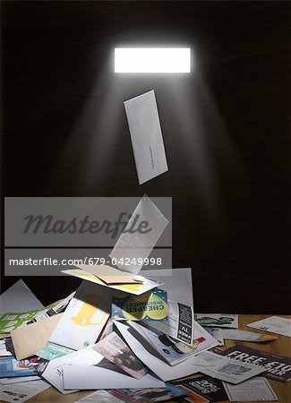 Junk mail Stock Photo - Premium Royalty-Free, Image code: 679-04249998
