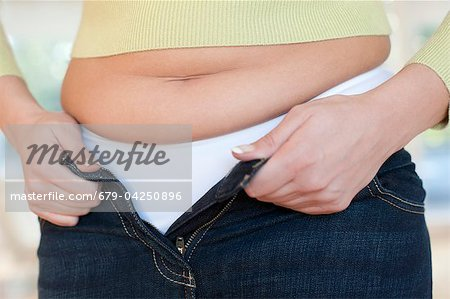Overweight woman Stock Photo - Premium Royalty-Free, Image code: 679-04250896