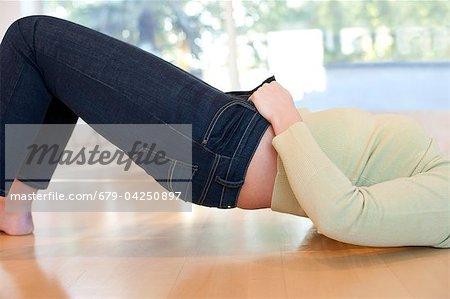 Overweight woman Stock Photo - Premium Royalty-Free, Image code: 679-04250897