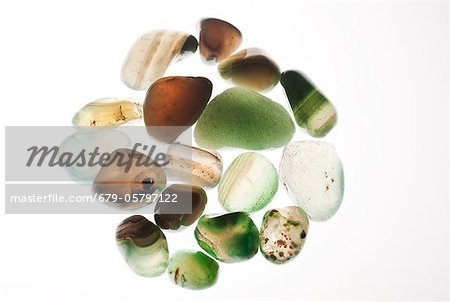 Assortment of Gemstones Stock Photo - Premium Royalty-Free, Image code: 679-05797122