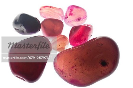 Assortment of Red Gemstones Stock Photo - Premium Royalty-Free, Image code: 679-05797124