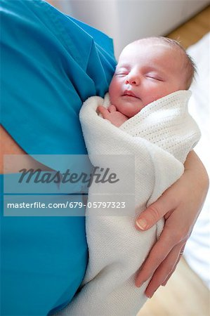 Newborn baby Stock Photo - Premium Royalty-Free, Image code: 679-05797323