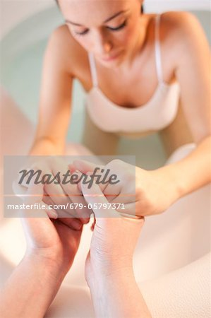 Water birth Stock Photo - Premium Royalty-Free, Image code: 679-05797371