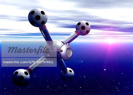 Space hotel, artwork Stock Photo - Premium Royalty-Free, Image code: 679-05797402