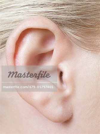 Woman's ear Stock Photo - Premium Royalty-Free, Image code: 679-05797465