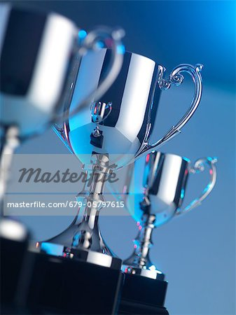 Trophies Stock Photo - Premium Royalty-Free, Image code: 679-05797615