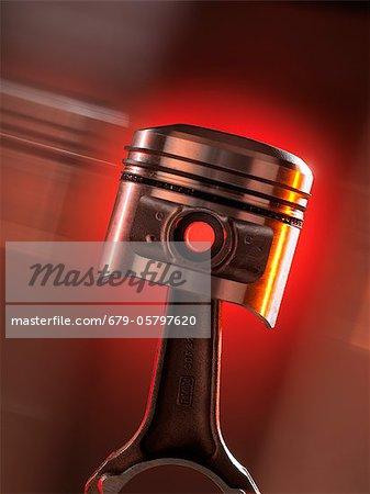 Car engine piston Stock Photo - Premium Royalty-Free, Image code: 679-05797620