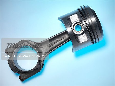 Car engine piston Stock Photo - Premium Royalty-Free, Image code: 679-05797625