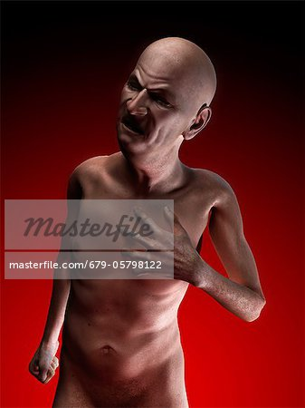 Heart attack, conceptual artwork Stock Photo - Premium Royalty-Free, Image code: 679-05798122
