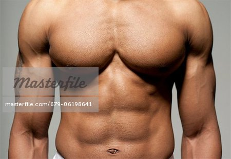 Male torso. Stock Photo - Premium Royalty-Free, Image code: 679-06198641