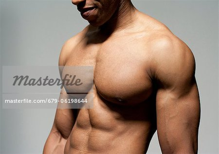 Male torso. Stock Photo - Premium Royalty-Free, Image code: 679-06198644