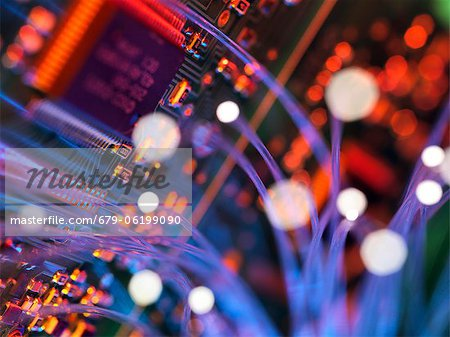 Digital communication, conceptual image. Stock Photo - Premium Royalty-Free, Image code: 679-06199090