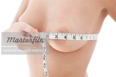 Bust measurement. Stock Photo - Premium Royalty-Free, Image code: 679-06673219