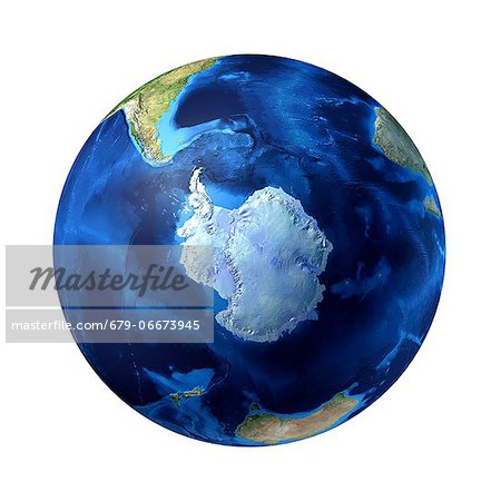 Antarctic, computer artwork. Stock Photo - Premium Royalty-Free, Image code: 679-06673945