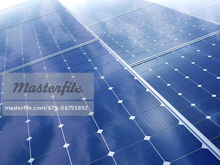 Solar energy, computer artwork. Stock Photo - Premium Royalty-Free, Image code: 679-06755892