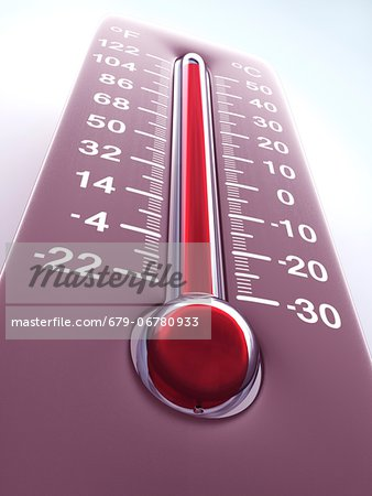 High temperature, computer artwork. Stock Photo - Premium Royalty-Free, Image code: 679-06780933