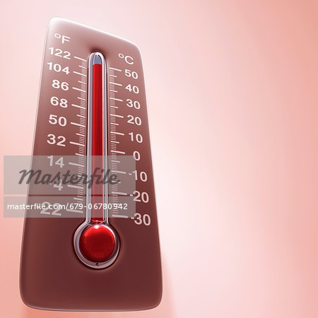 High temperature, computer artwork. Stock Photo - Premium Royalty-Free, Image code: 679-06780942