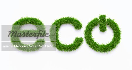Green energy, computer artwork. Stock Photo - Premium Royalty-Free, Image code: 679-06781165