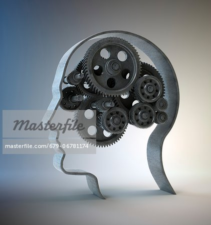 Consciousness, conceptual computer artwork. Stock Photo - Premium Royalty-Free, Image code: 679-06781174